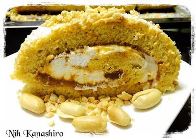 Rocambole de amendoim