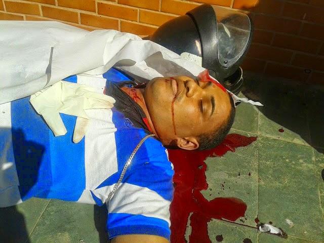 Homem assassinado no bairro de Fátima ( BOZÓ)