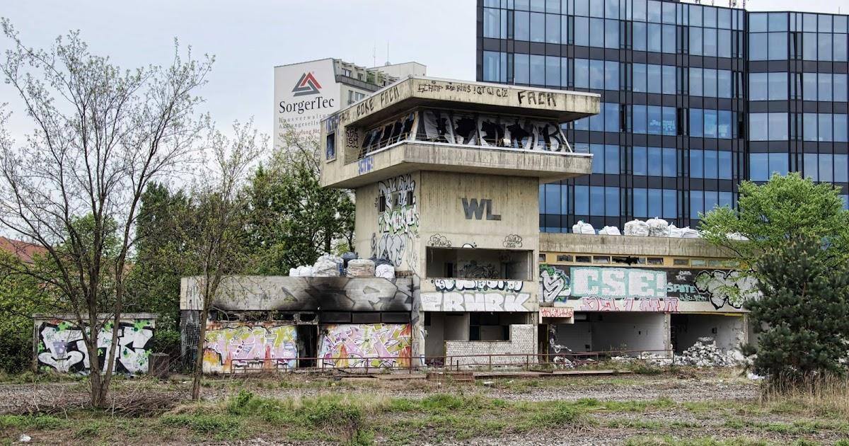 Berliner Baustellen 0353 Baustelle Abriss Altes