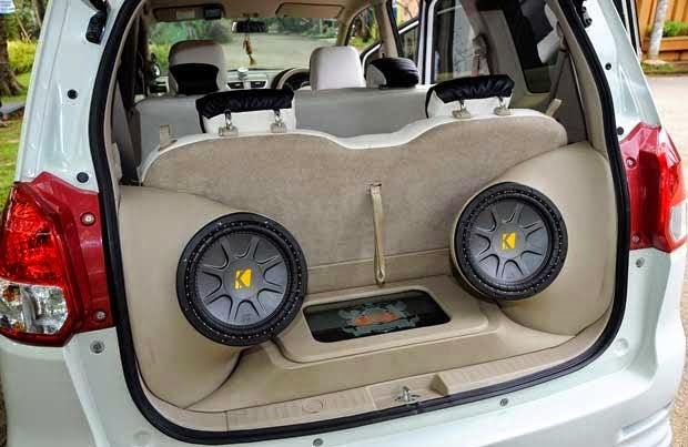 Modifikasi Audio Mobil Suzuki Ertiga