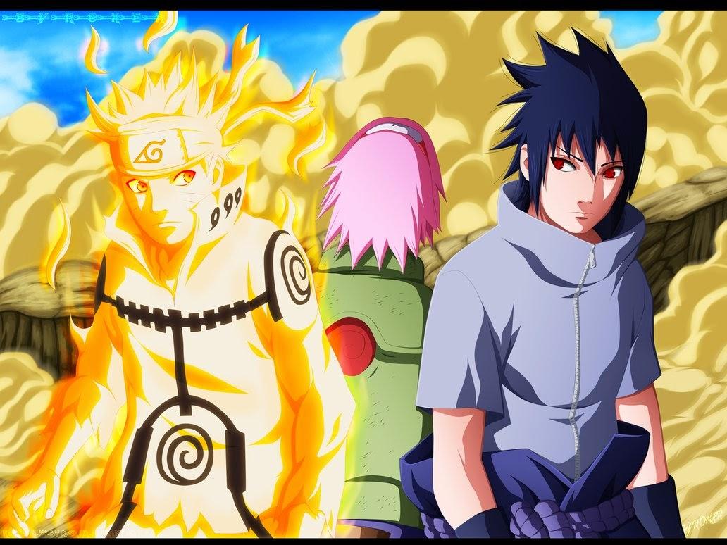 Naruto Shippuden Team 7