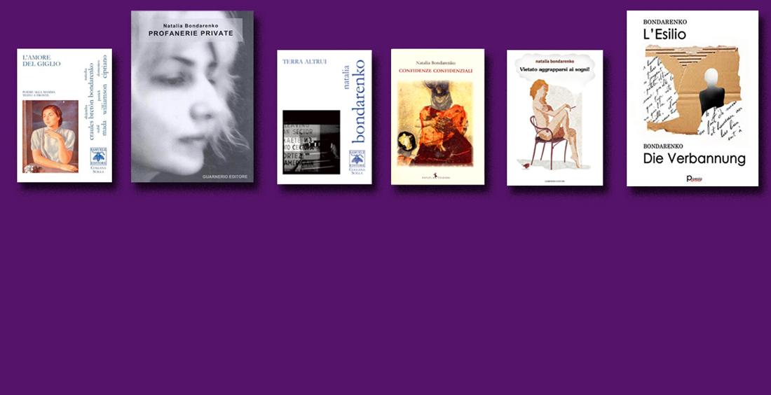 Bondarenko - libri di poesia