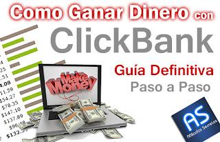 Como Ganar Dinero con Clickbank paso a paso