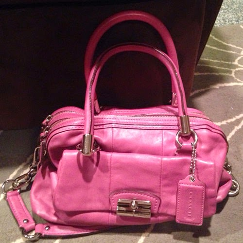 Coach:  Kristin Double Satchel bag
