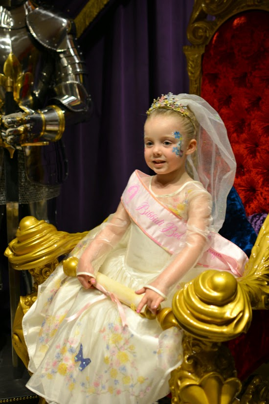 Disney Bibbidi Bobbidi Boutique at Harrods Cinderella Experience