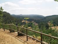 Vista sobre la Vall del Tenes des del Mirador de la Campana