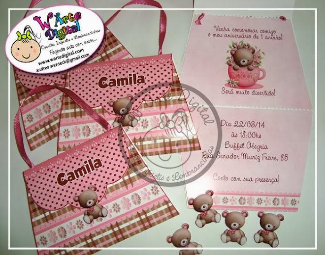 Convites Infantis e Lembrancinhas