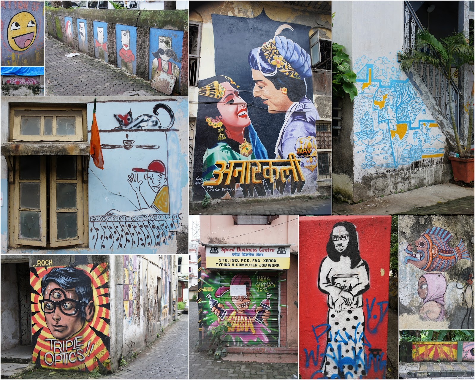 Graffiti wall bandra - I Have Looked Up Some History On The Area And Apparently Ranwar Is One Of The Original 24 Pakhadis Hamlets That Made Up Bandra Since The Earliest