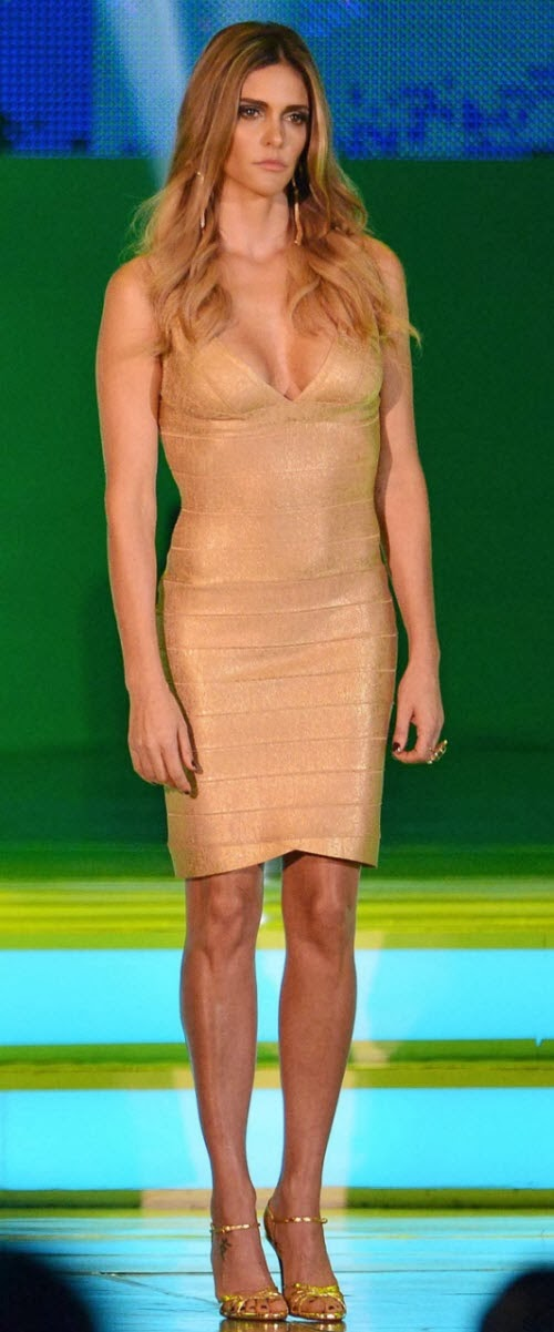 Fernanda Lima: La gran ganadora del sorteo del Mundial Brasil 2014