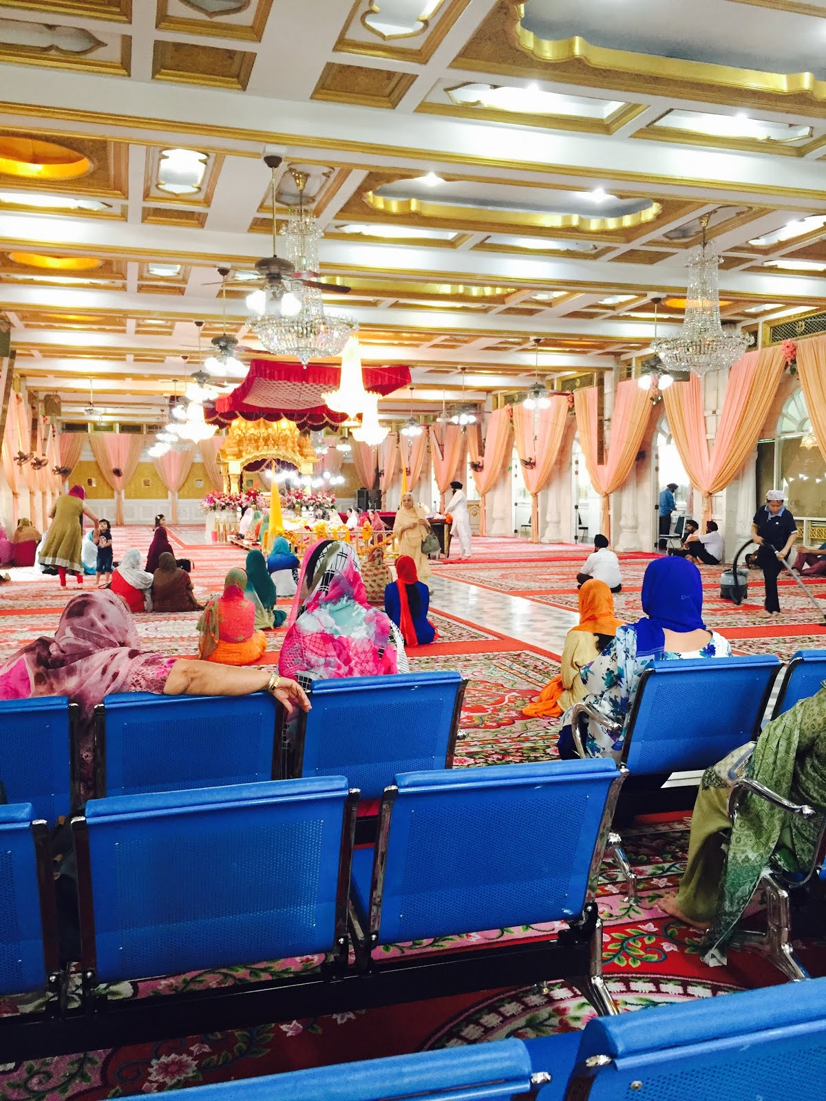 A Sikh Temple in Bangkok Temple, travel off the beaten path