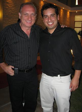 Junior Silva y Fernando Bacovic