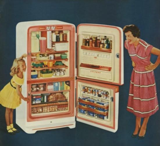 1950s fridge
