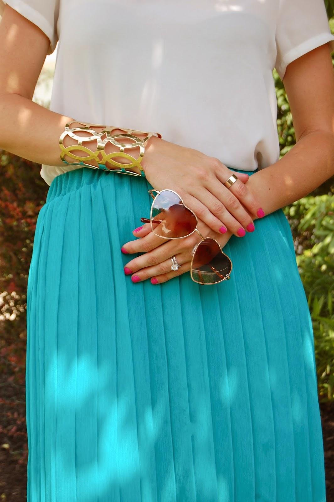Wearing Trust Fund Beauty Nail Polish, Summer 2014 Nail Polish Colors