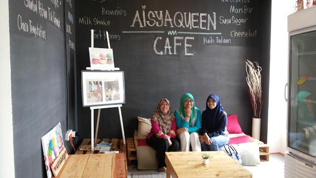 aisya queen, cafe, butik, bangi, jalan-jalan, shopping, cuci mata