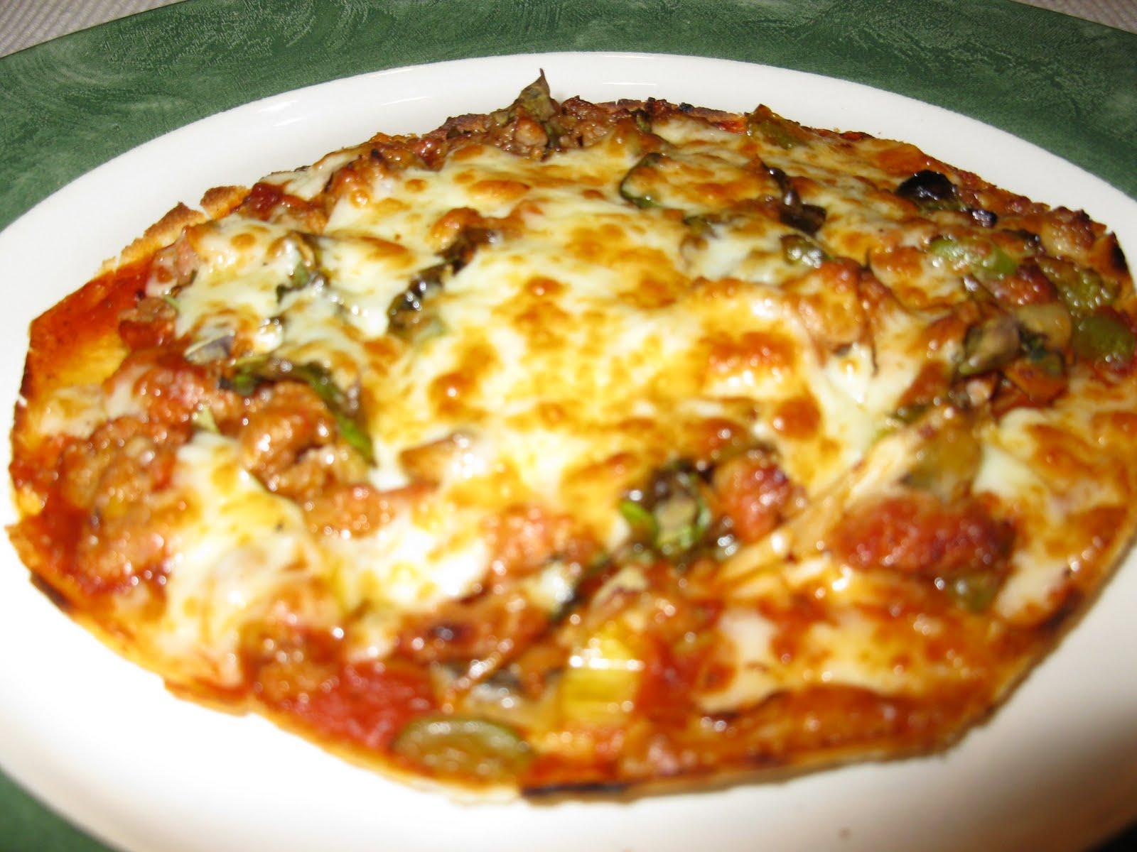 ma cuisine sans pr tention bouch es de pizza la saucisse italienne. Black Bedroom Furniture Sets. Home Design Ideas