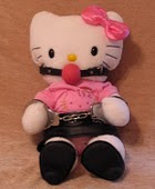 Hello Kitty in bondage