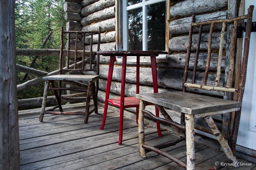 Photographie de la faune et voyages septembre 2013 for Camp en bois rond
