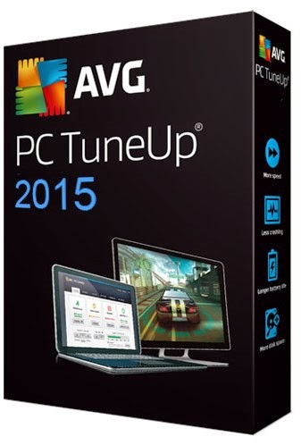 Baixar AVG PC TuneUp 2015 15.0.1001.393 Final AVG PC Tuneup 2015 dvd case logo