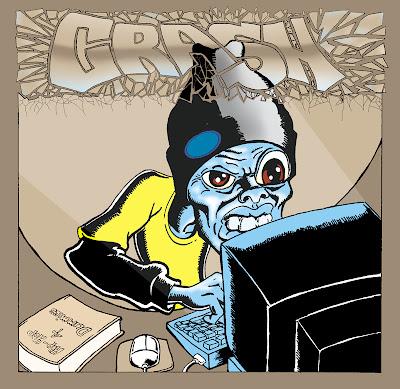 Crash - Geeks of the Industry CD art album cover.