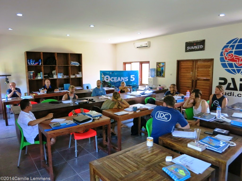 PADI IDC, Gili Air, Indonesia, May 2014