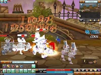 Dragonica - Combat