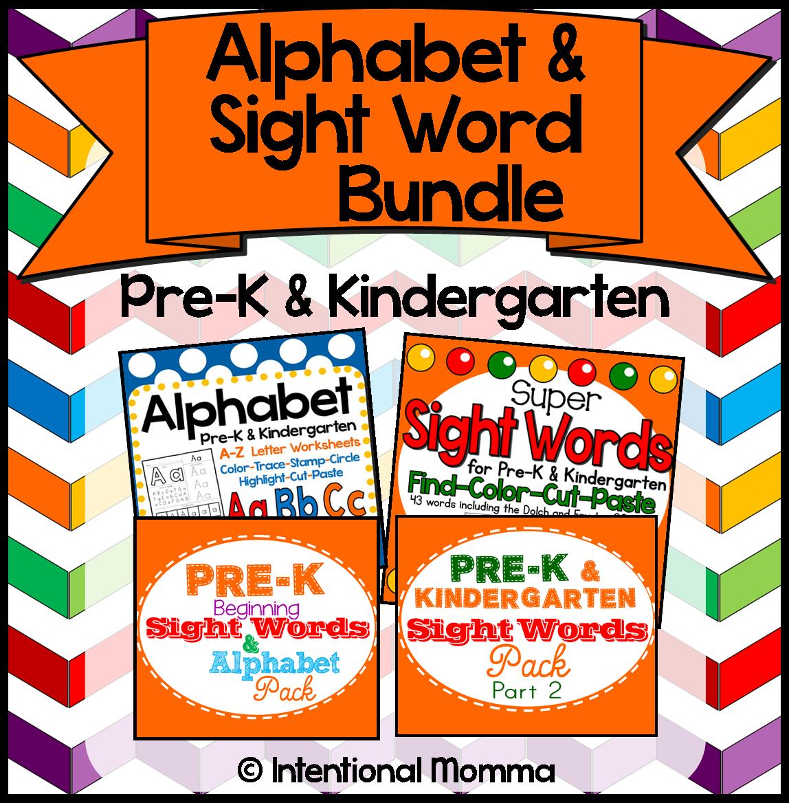 teach Dolch Fry preschool kindergarten read