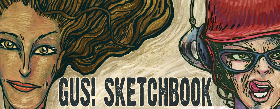 gustavo arguello sketchbook
