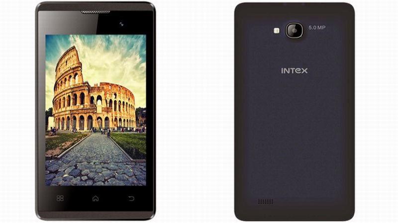 Intex Aqua A1 Smartphone Murah Android Kitkat