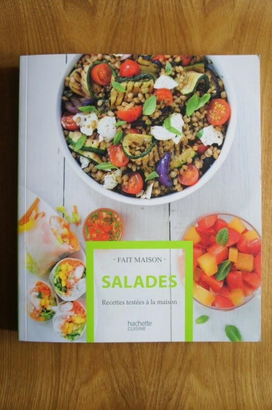 Gourmandises et merveilles salades mon nouveau livre chez hache - Collection fait maison ...