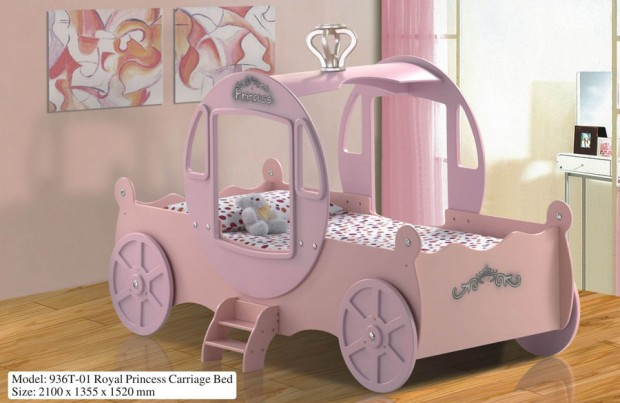 Car themes bedroom design for your kids elvanoe for Car carriage
