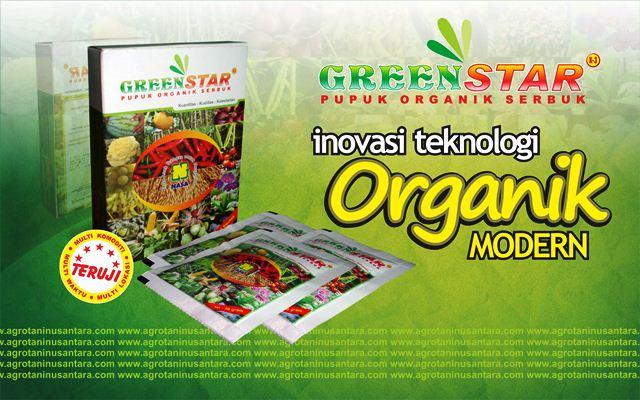 GREENSTAR Pupuk Organik Serbuk NASA | www.agrotaninusantara.com