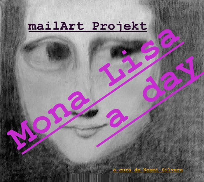 Mona Lisa a day Poster Projekt