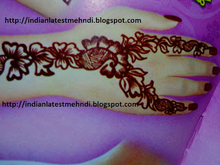 latest easy mehndi designs 2013 3