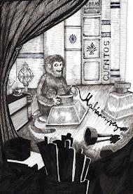 El mono de la tinta china