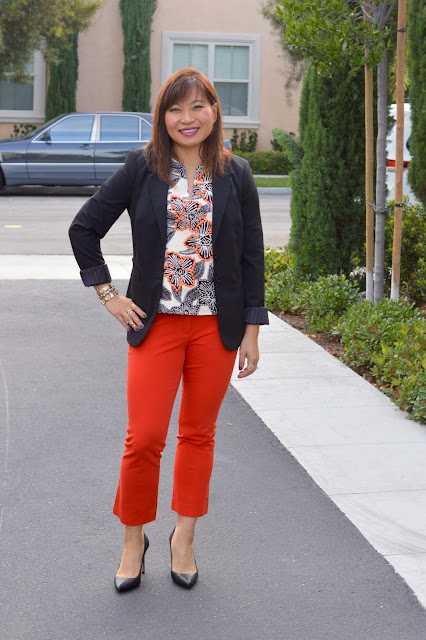 Fashion Over 40, OC Blogger, work style