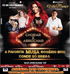 CLUBE 10 DE NOVEMBRO - MUSA E ROGÉRIO SOM.