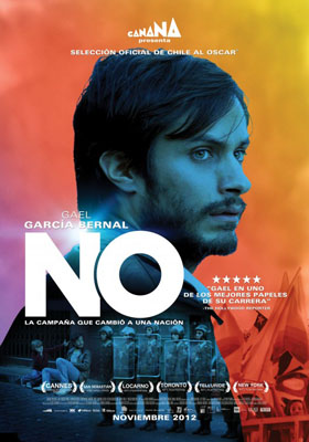 NO film poster Gael Garcia Bernal