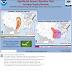 Προειδοποίηση για επικίνδυνα καιρικά φαινόμενα στις ΗΠΑ το Σαββατοκύριακο.