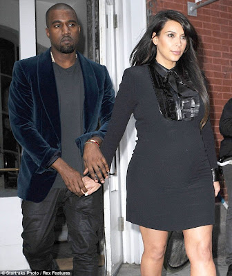 Kim Kardashian Delivers A Baby Girl 5 Weeks Earlier, Pregnancy