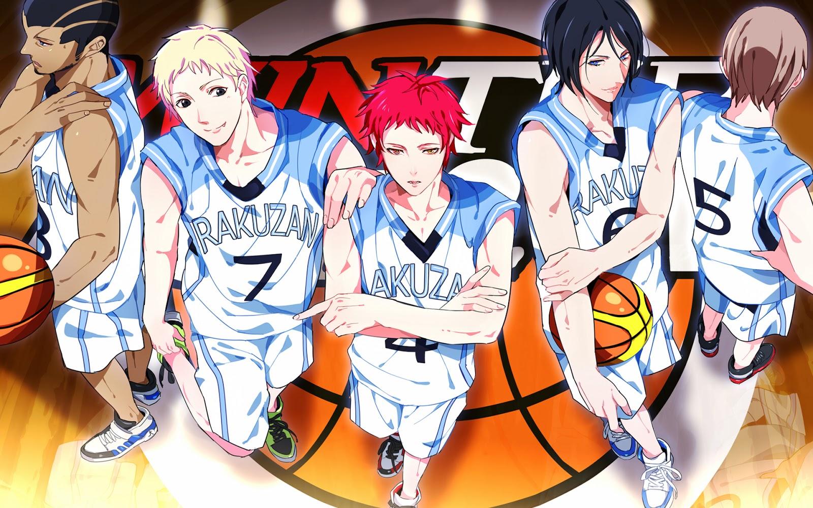 Rakuzan Basketball Team 79 HD Wallpaper