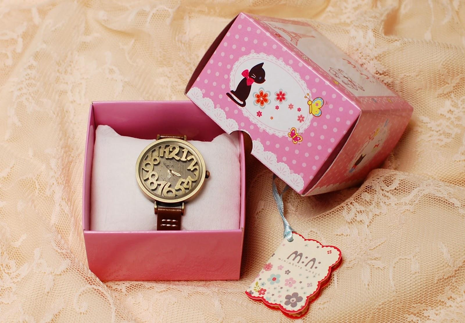 Mini Watch Copper Numbers