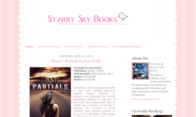 Brand new look for Starry Sky Books!