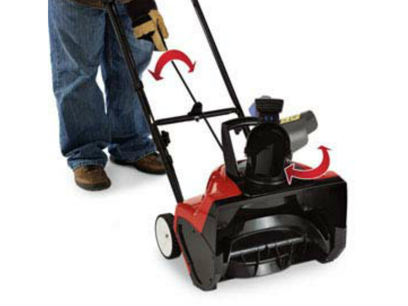Best Small Electric Snow Blower : Toro electric snow blower review best customer