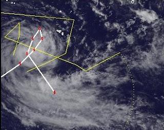 Tropensturm JASMINE bei Tonga gibt noch nicht auf