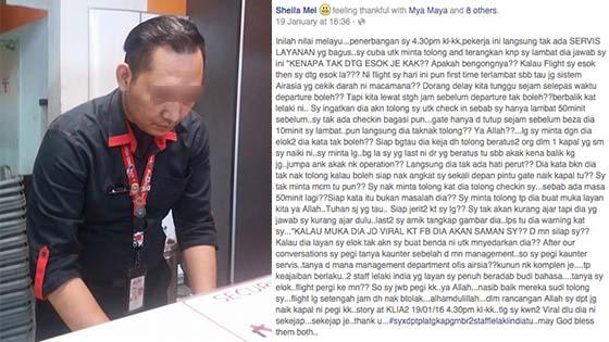 Staff AirAsia Kantoi Jual Seat Penumpang Lewat