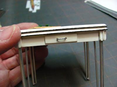 Журнальный стол для кукол своими руками 67
