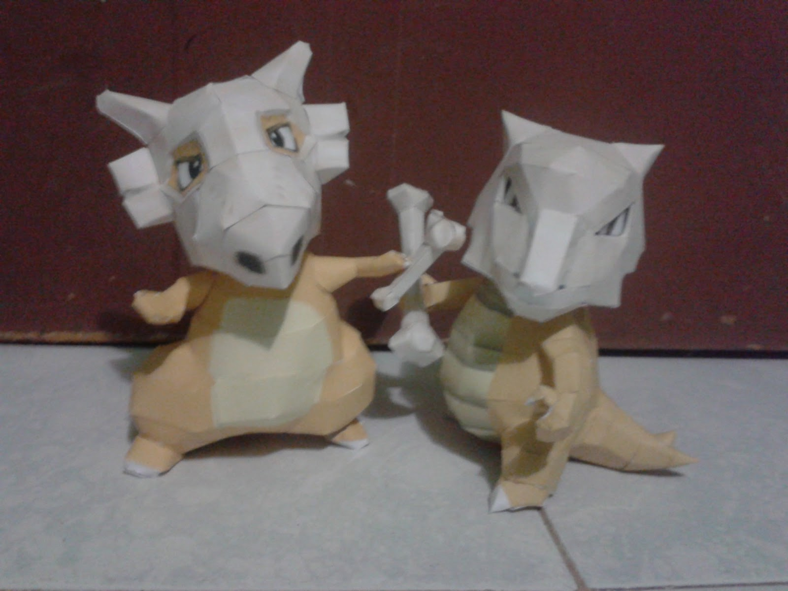 Pokemon Cubone Papercraft