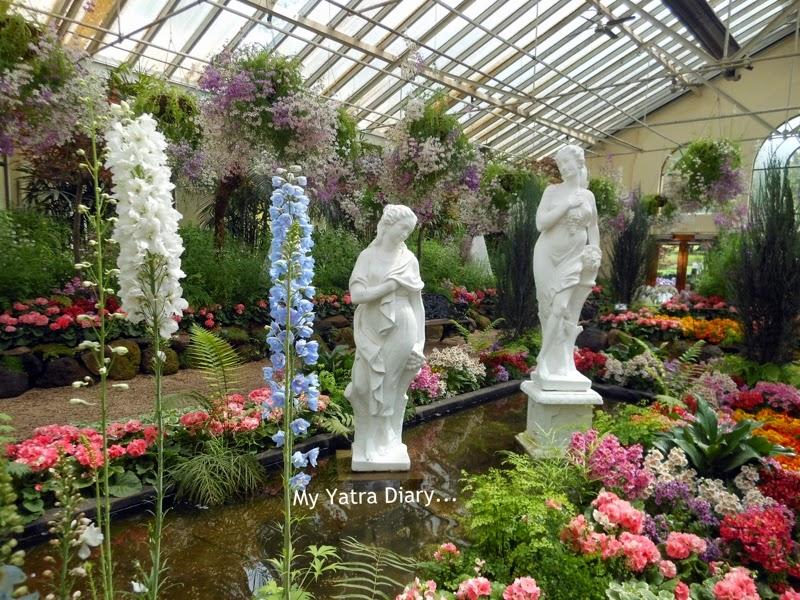 Fitzroy Gardens conservatory, Melbourne Australia