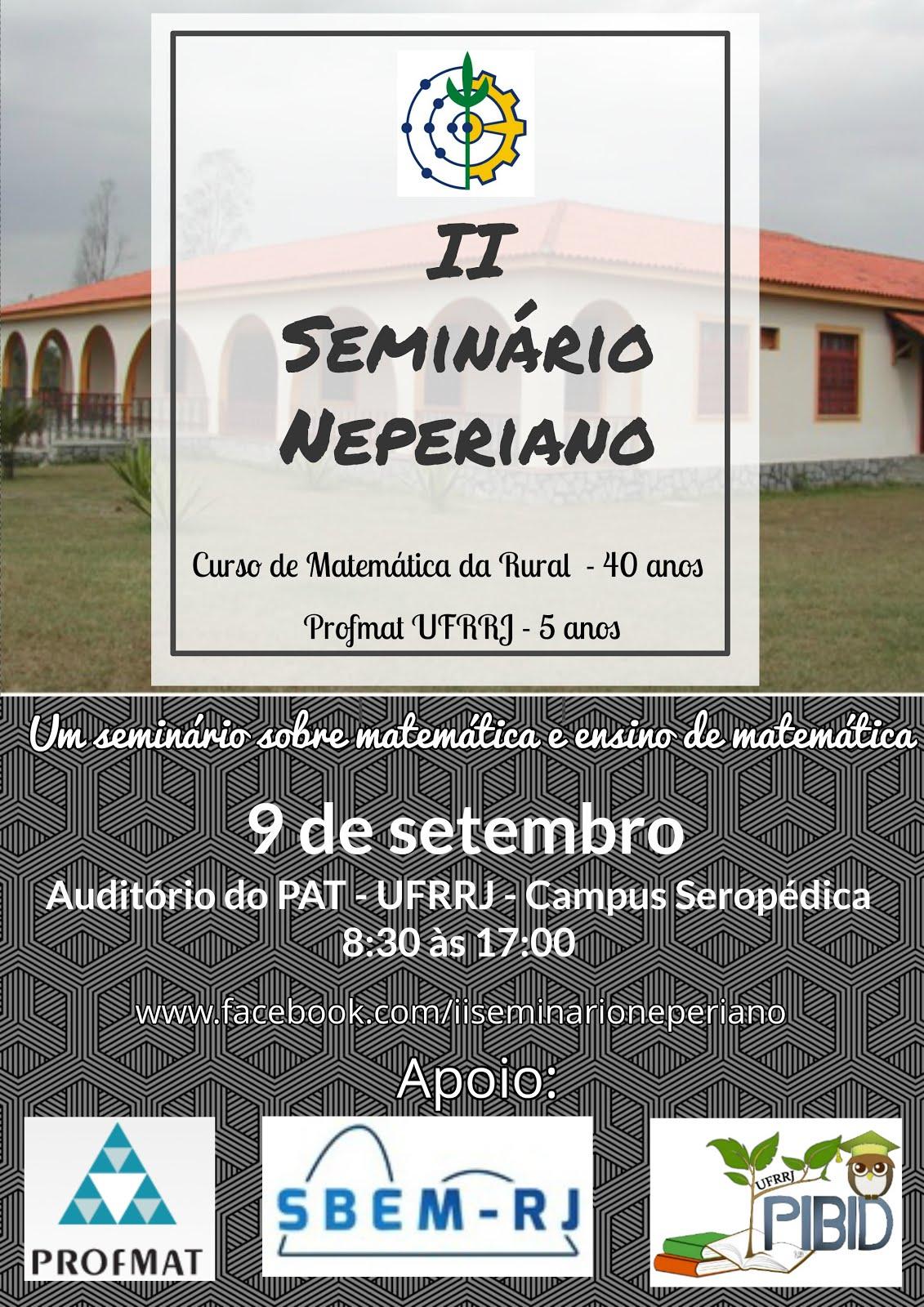 II Seminário Neperiano