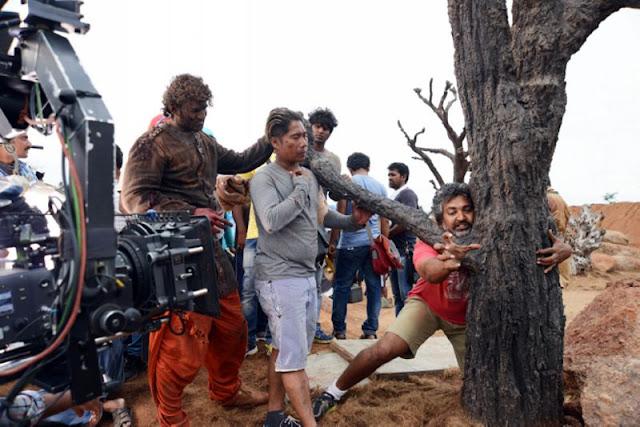 Baahubali New HD Working Stills | SS Rajamouli | Prabhas |  Rana Daggubati